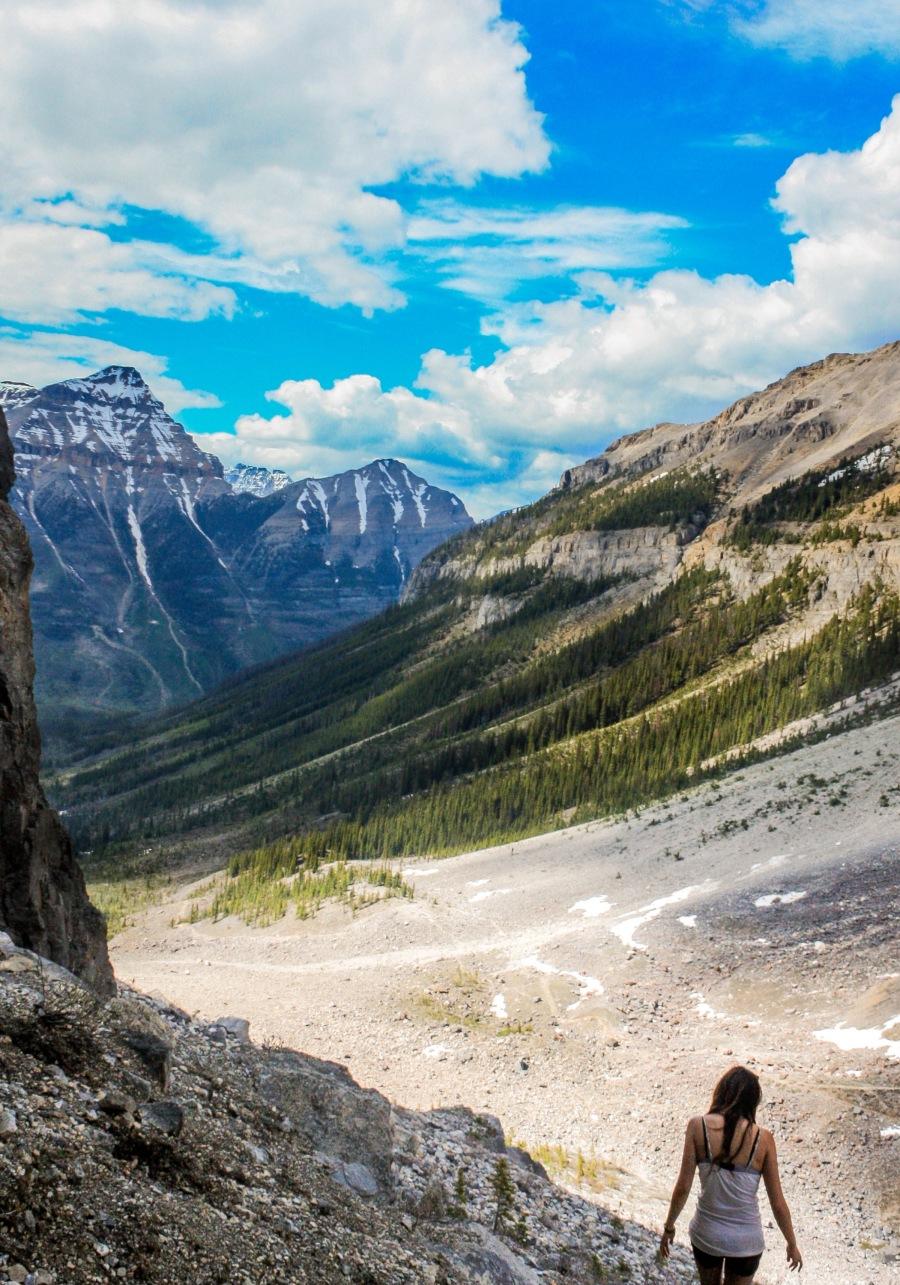 Louise Tang Banff Hiking
