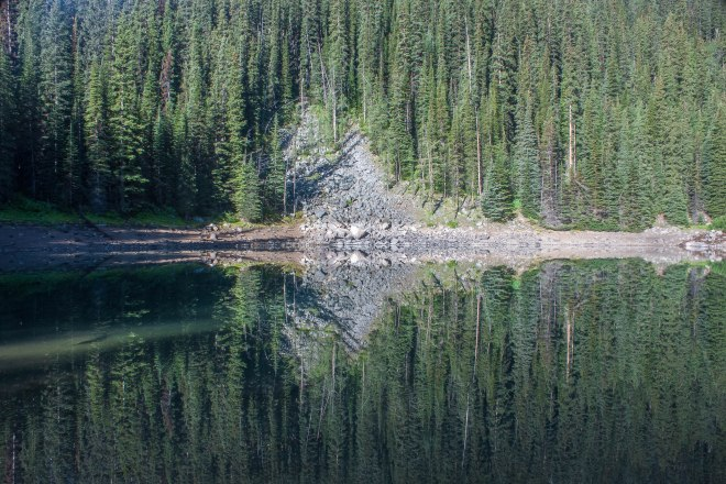 Mirror Lake reflection