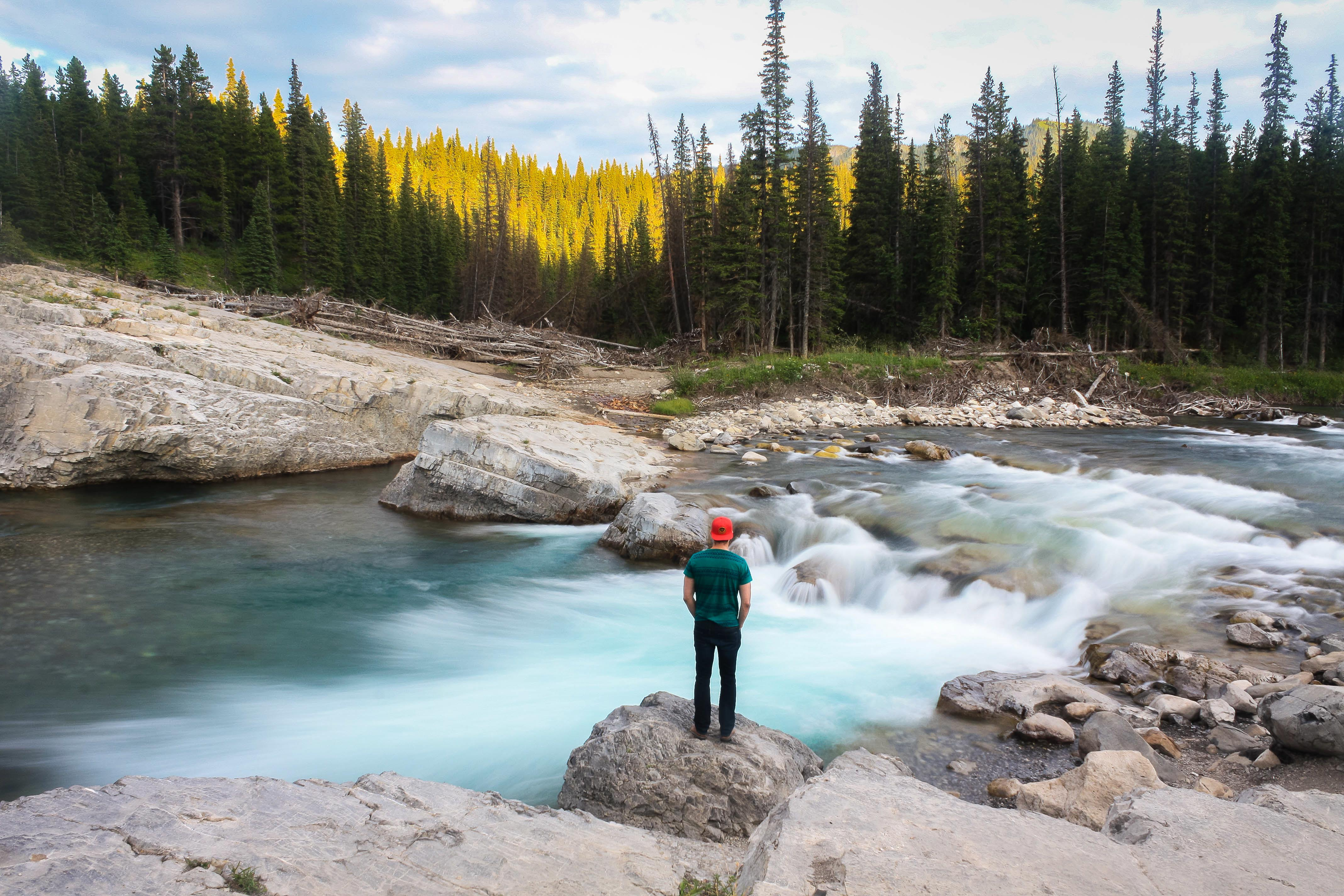 bragg creek - elbow falls summer-7