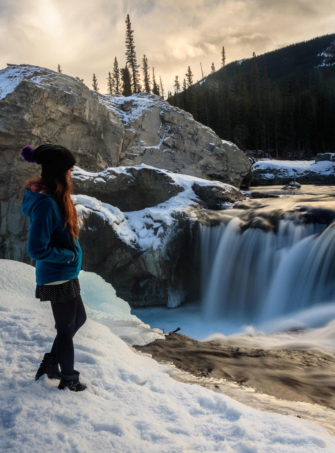 Elbow Falls Winter