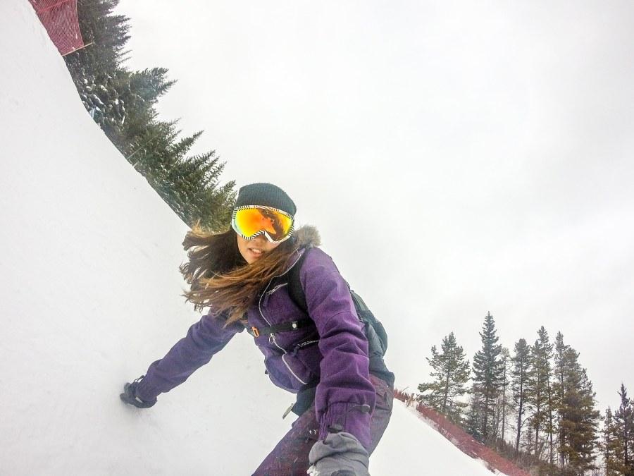 Lake Louise Snowboarding