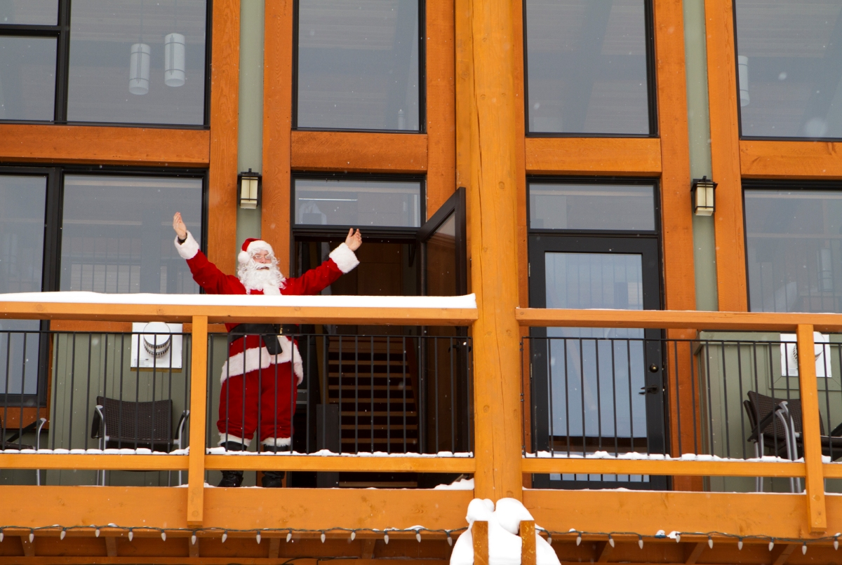 Santa at Sunshine Village