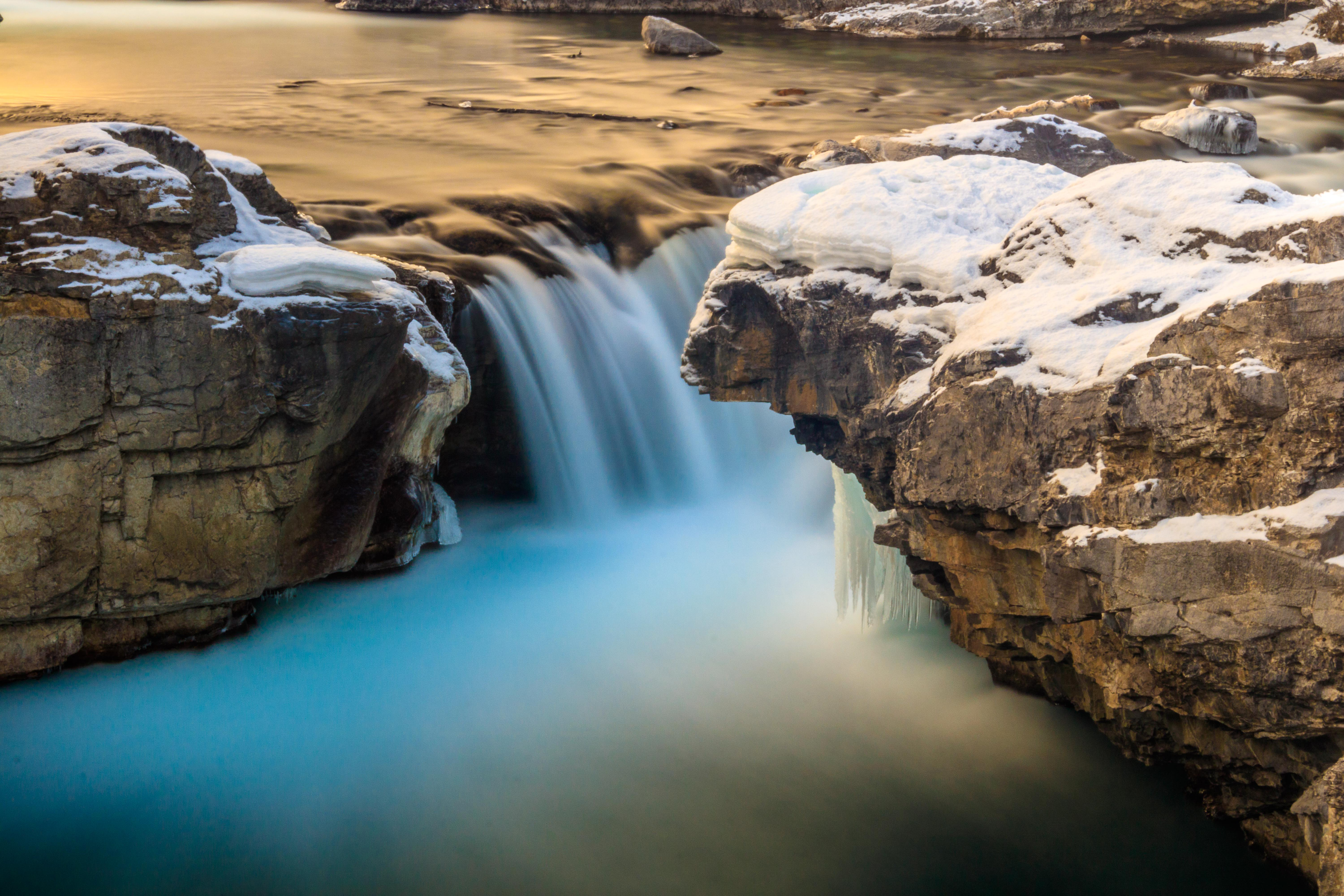 Elbow Falls Winter
