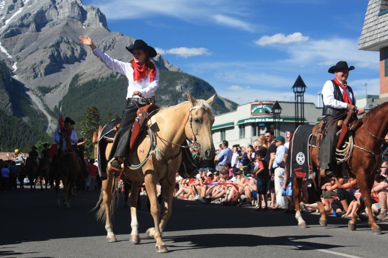 Banff Canada Day
